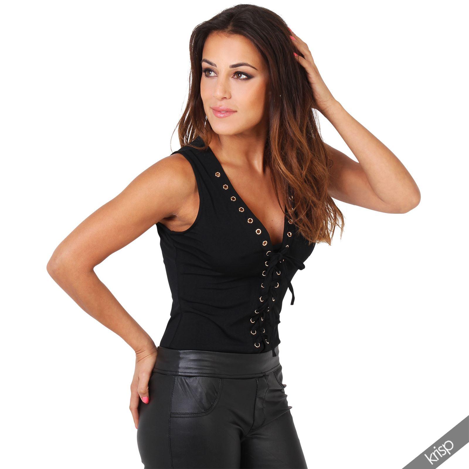 femme body top justaucorps sexy d collet plongeant zip dor manche r sille ebay. Black Bedroom Furniture Sets. Home Design Ideas