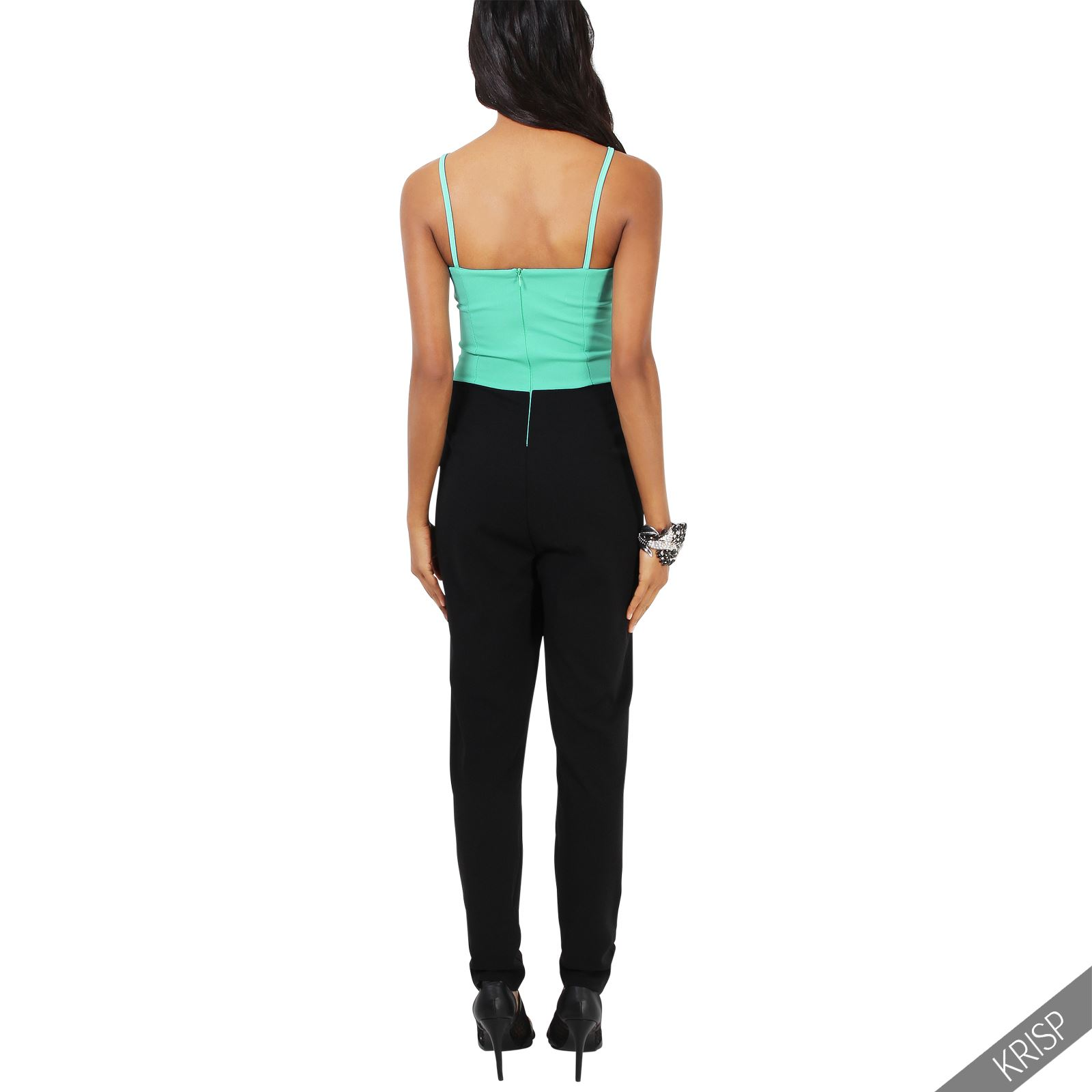 damen tr gertop jumpsuit spitze h kelspitze overall einteiler sommer party club ebay. Black Bedroom Furniture Sets. Home Design Ideas