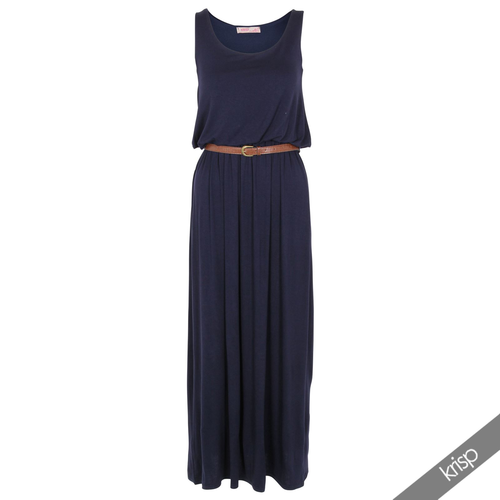 Belted-Long-Vest-Maxi-Dress-Summer-Holiday-Sun-Floaty-Beach-Wear-Casual-Jersey