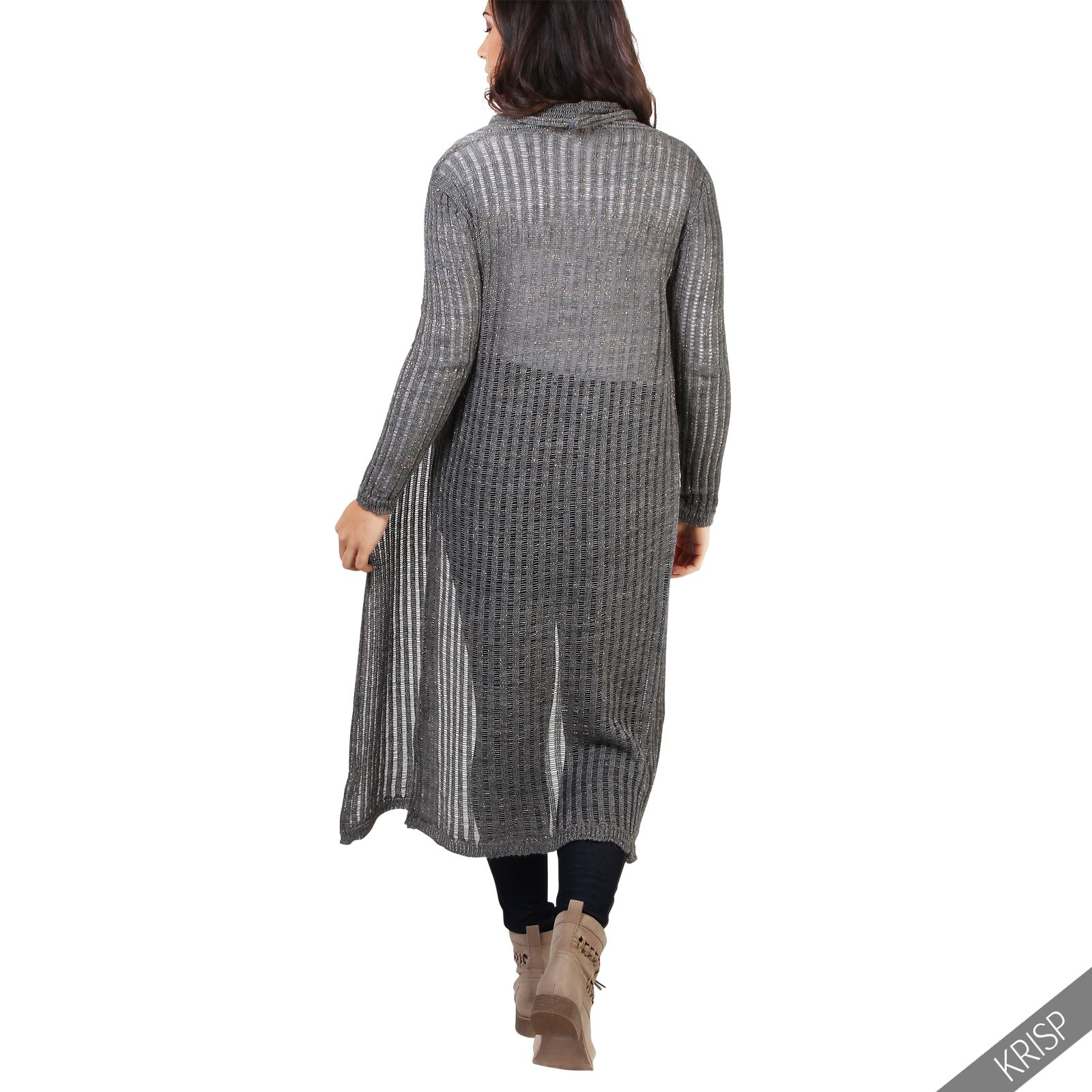 Long Chunky Cardigan Uk - English Sweater Vest