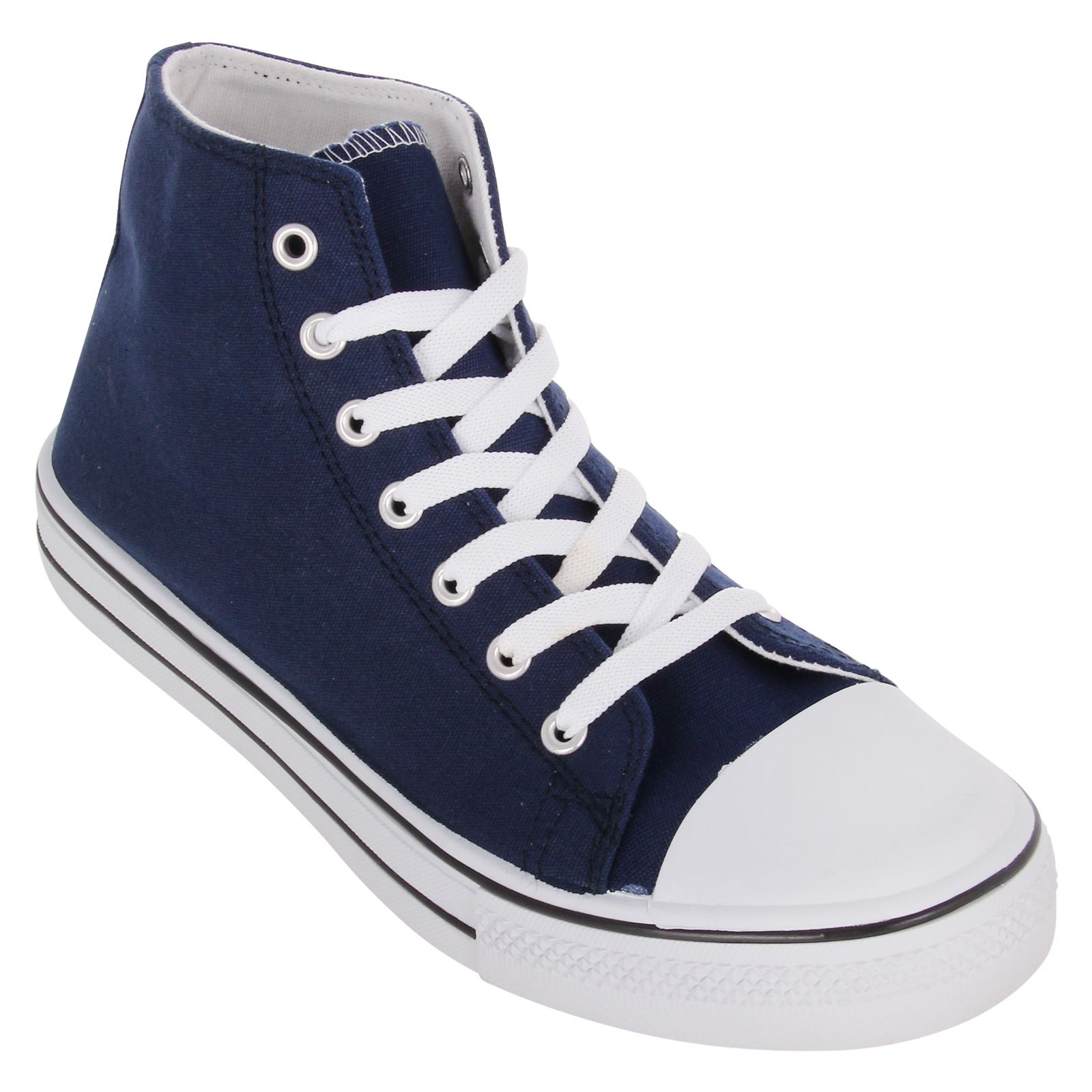 Mens Classic Hi Tops Low Ankle Boots Trainers Shoes Pumps ...