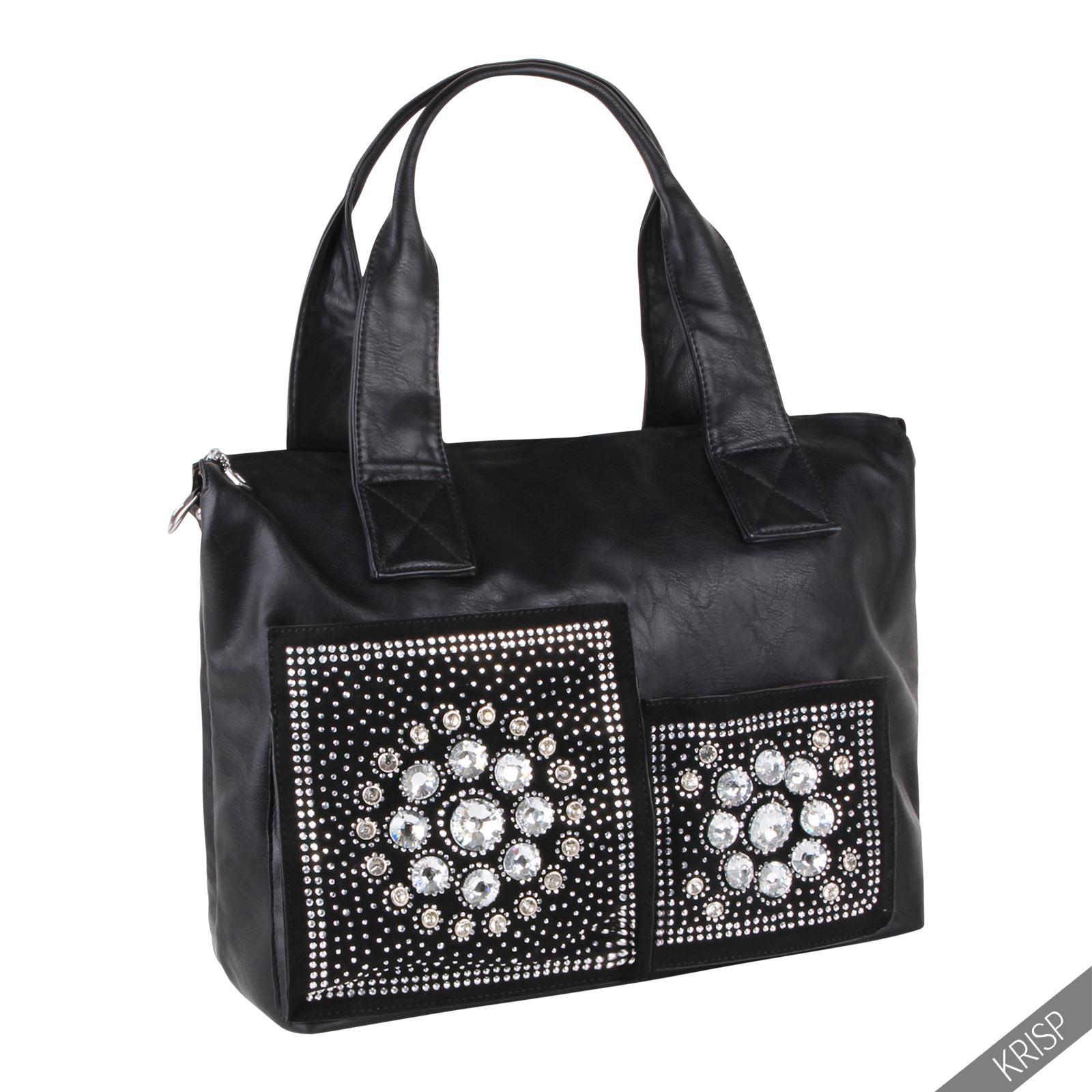 femmes sac main fourre tout sac shopping sac cabas grand. Black Bedroom Furniture Sets. Home Design Ideas