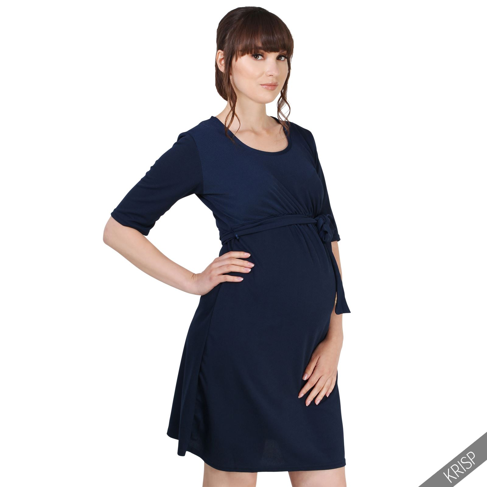 Maternity Clothing Pregnancy Party Dress Short Sleeve Top ...