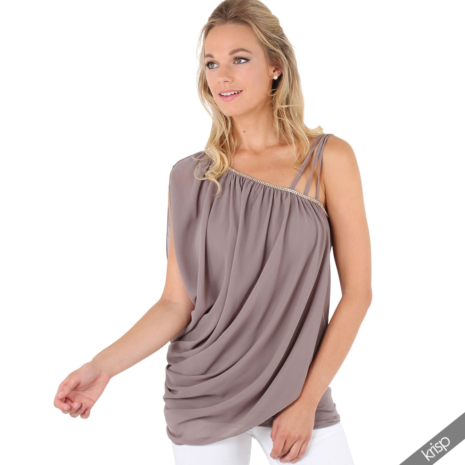 Women's tops are a must have item to cover a women body! There are so many varieties of cheap women's tops on our site that you will be left awe struck when you are going around viewing the items.