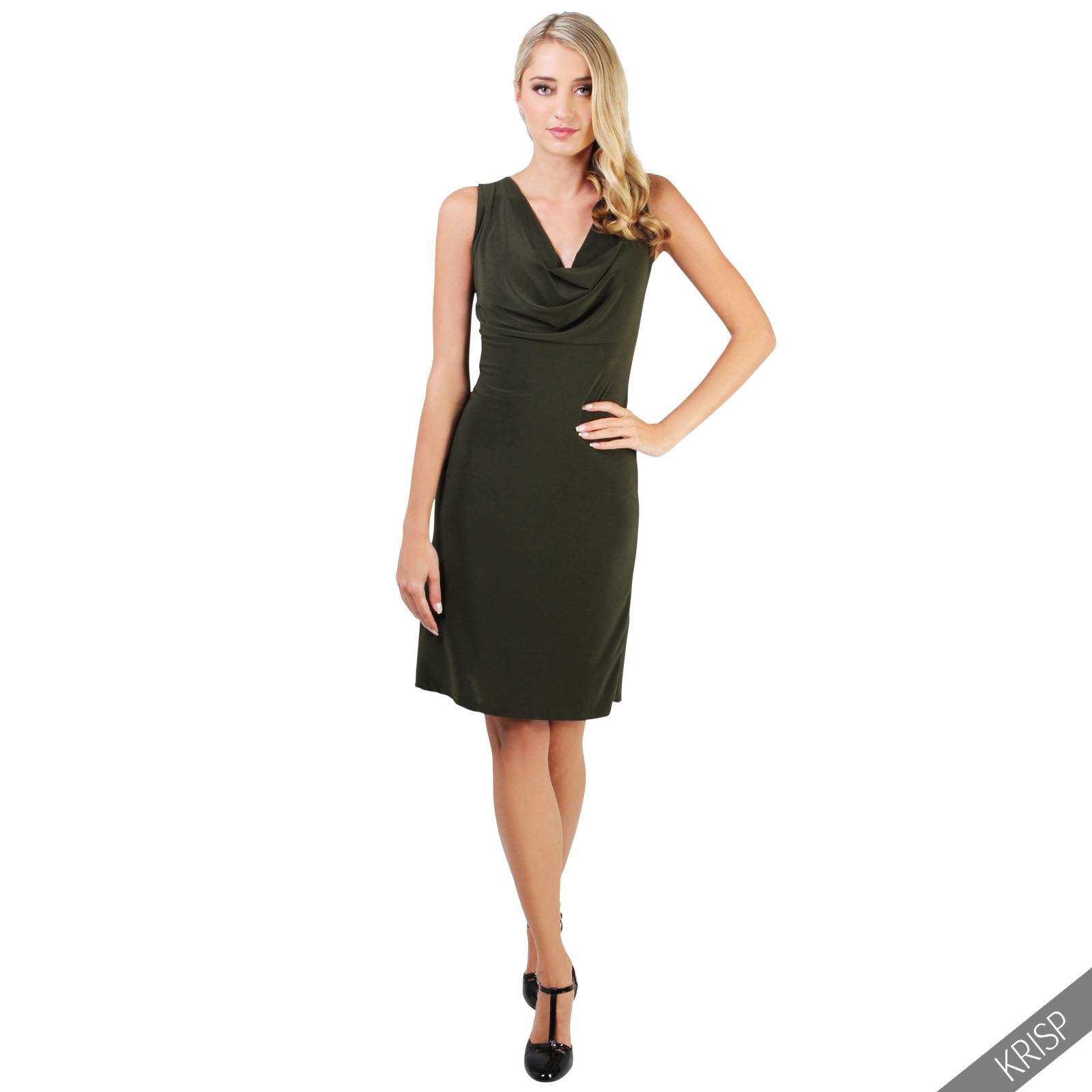 krisp vestido corto elegante escote espalda noche fiesta c ctel ebay. Black Bedroom Furniture Sets. Home Design Ideas