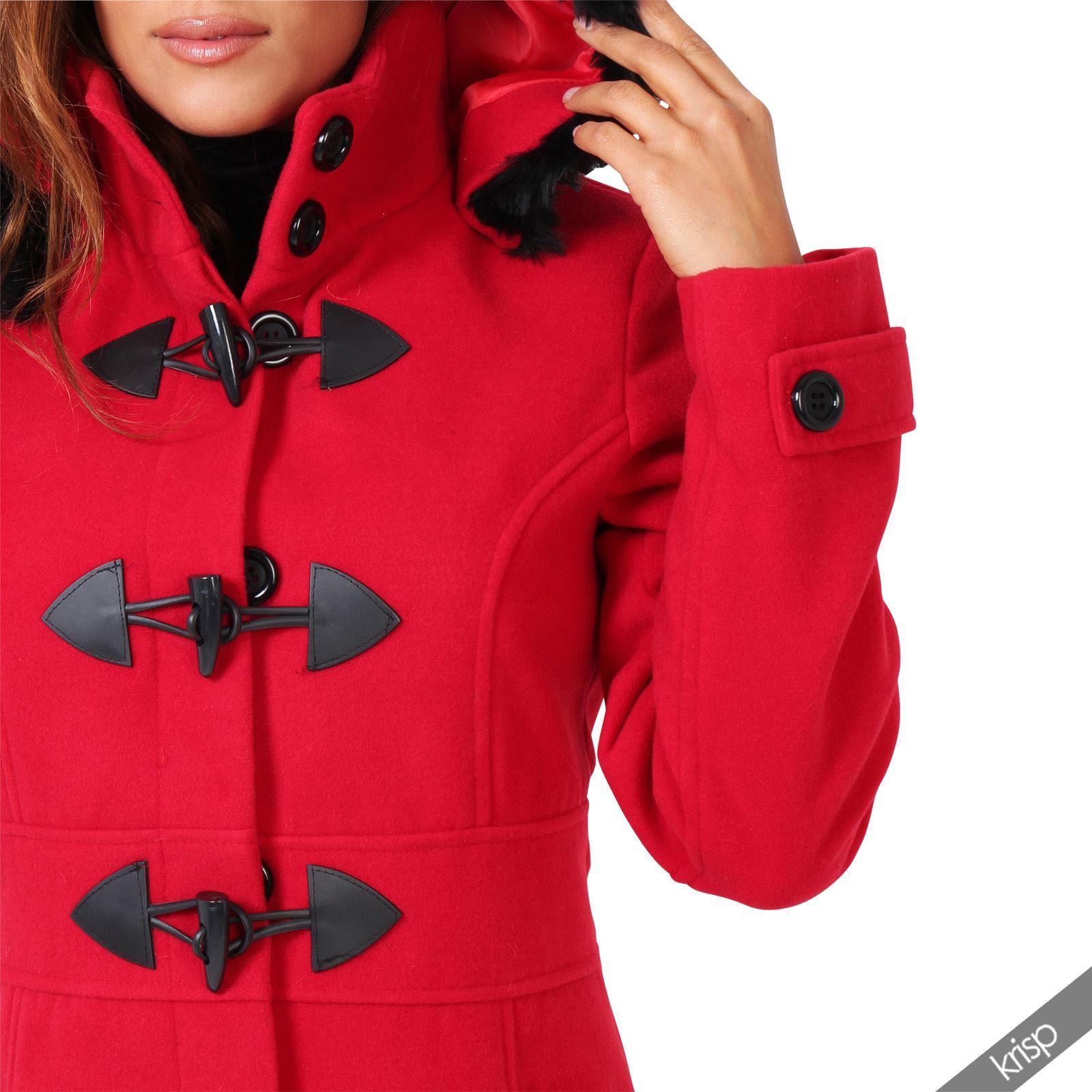 Manteau duffle coat femme en solde