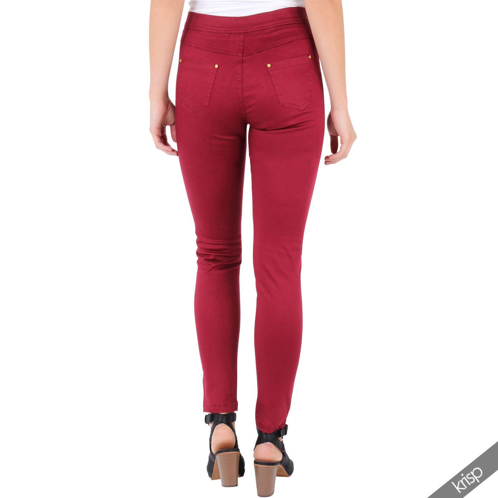 Femme pantalon jean slim bas sexy trou au genou effet style us casual - Comment reparer un jean troue au genou ...