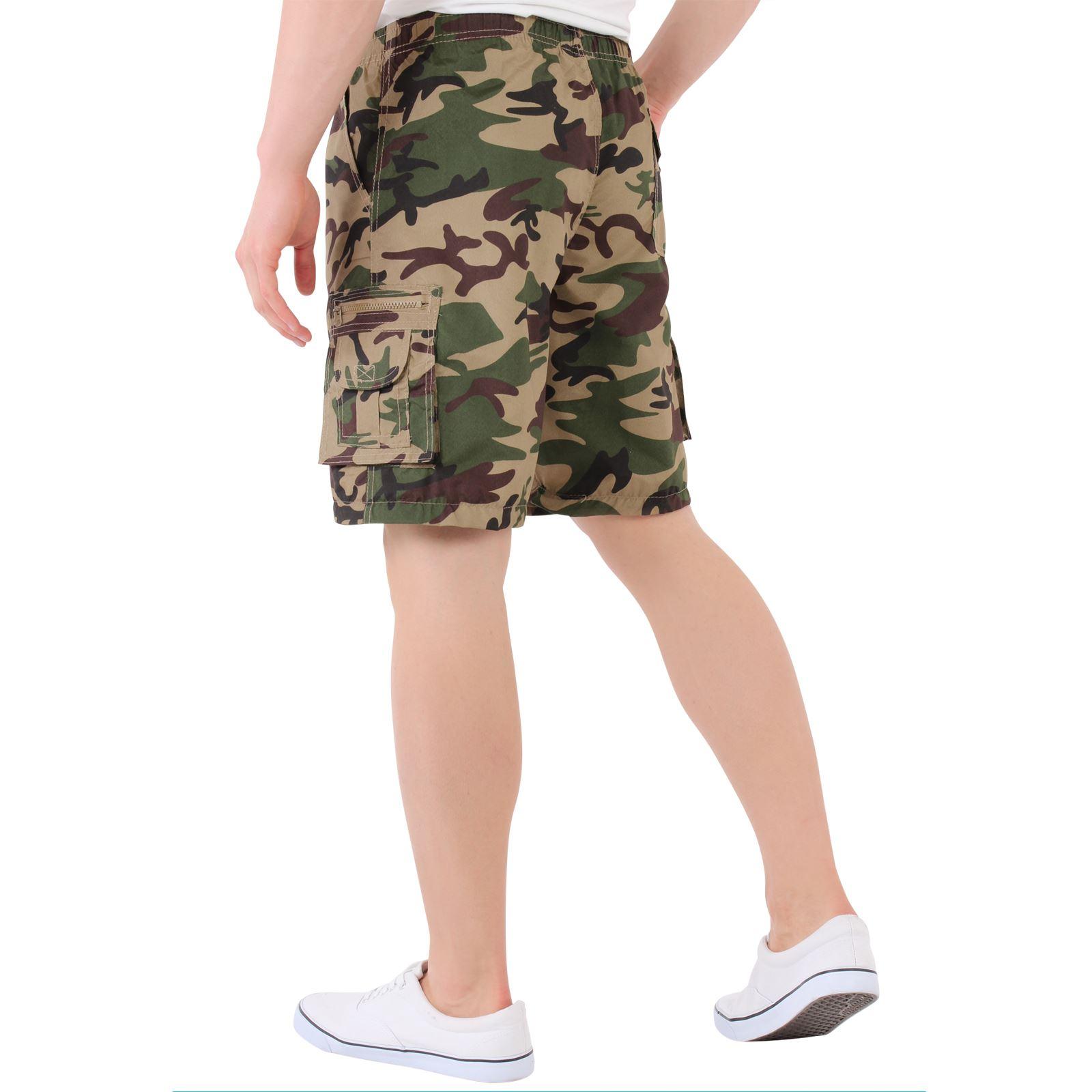 herren cargo shorts bermuda hose convertible camouflage. Black Bedroom Furniture Sets. Home Design Ideas