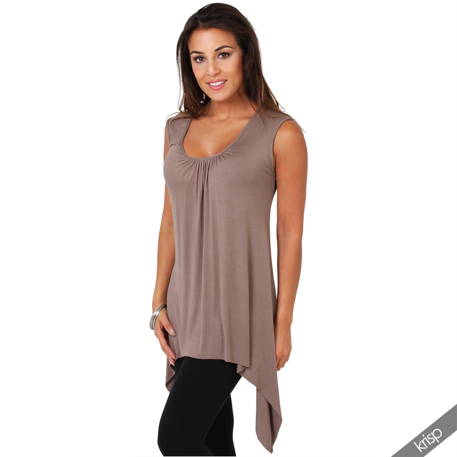 Find long sleeveless tunic at ShopStyle. Shop the latest collection of long sleeveless tunic from the most popular stores - all in one place.