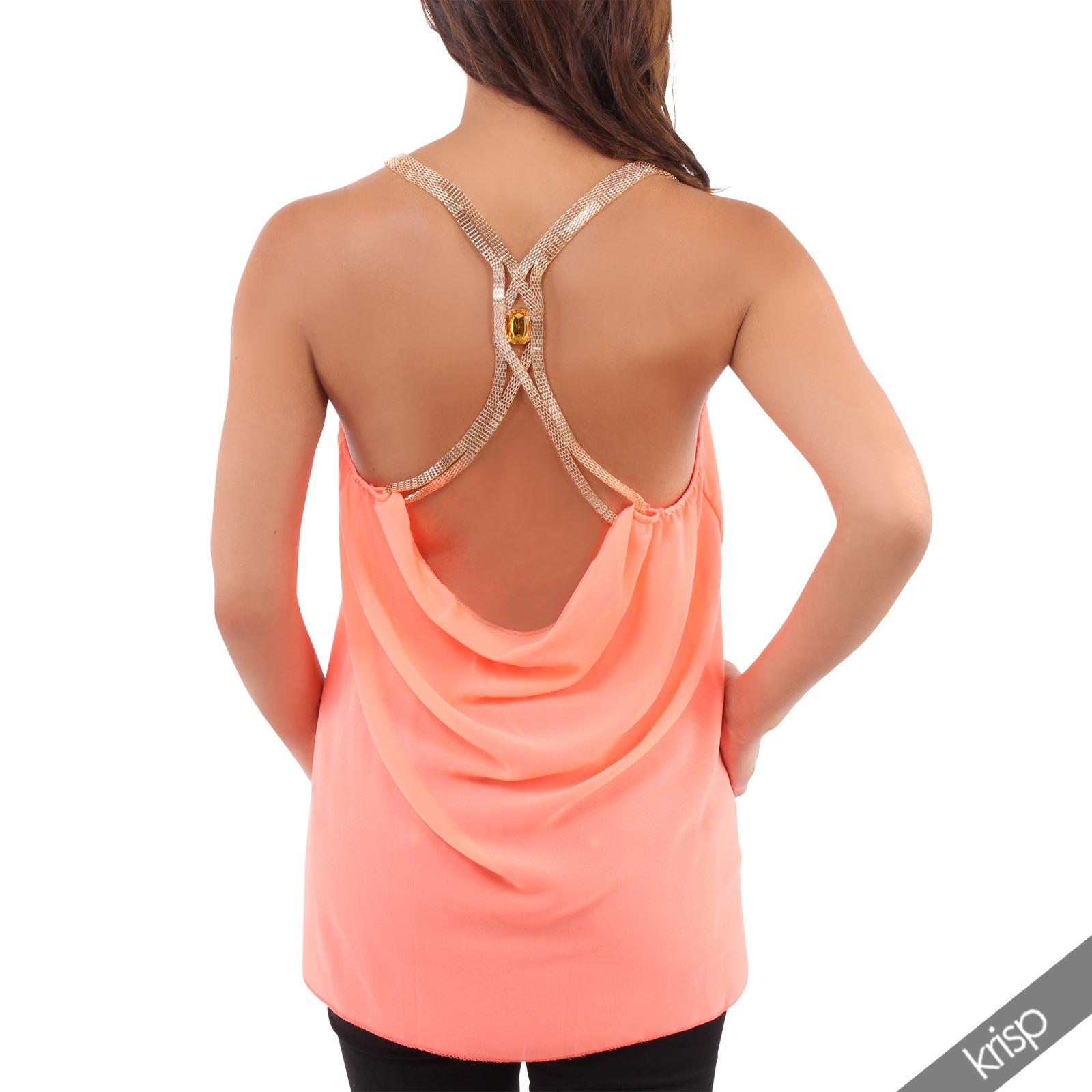 Womens Gold Vest