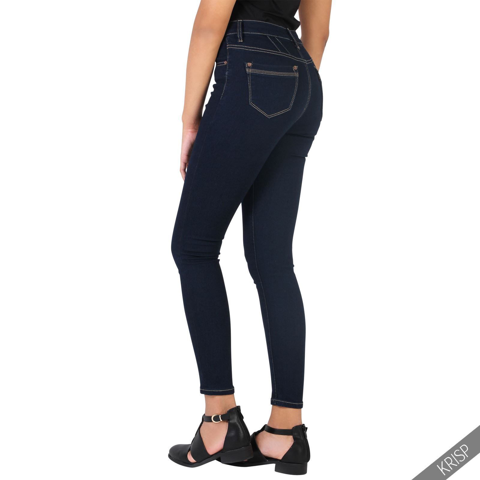 Features of Boulder Denim Classic Skinny Fit Jean - Womens: Extreme Stretch - Unlike most stretch denim which stretches vertically or horizontally, our denim is designed to move like our body does so we designed it to stretch on the diagonal.
