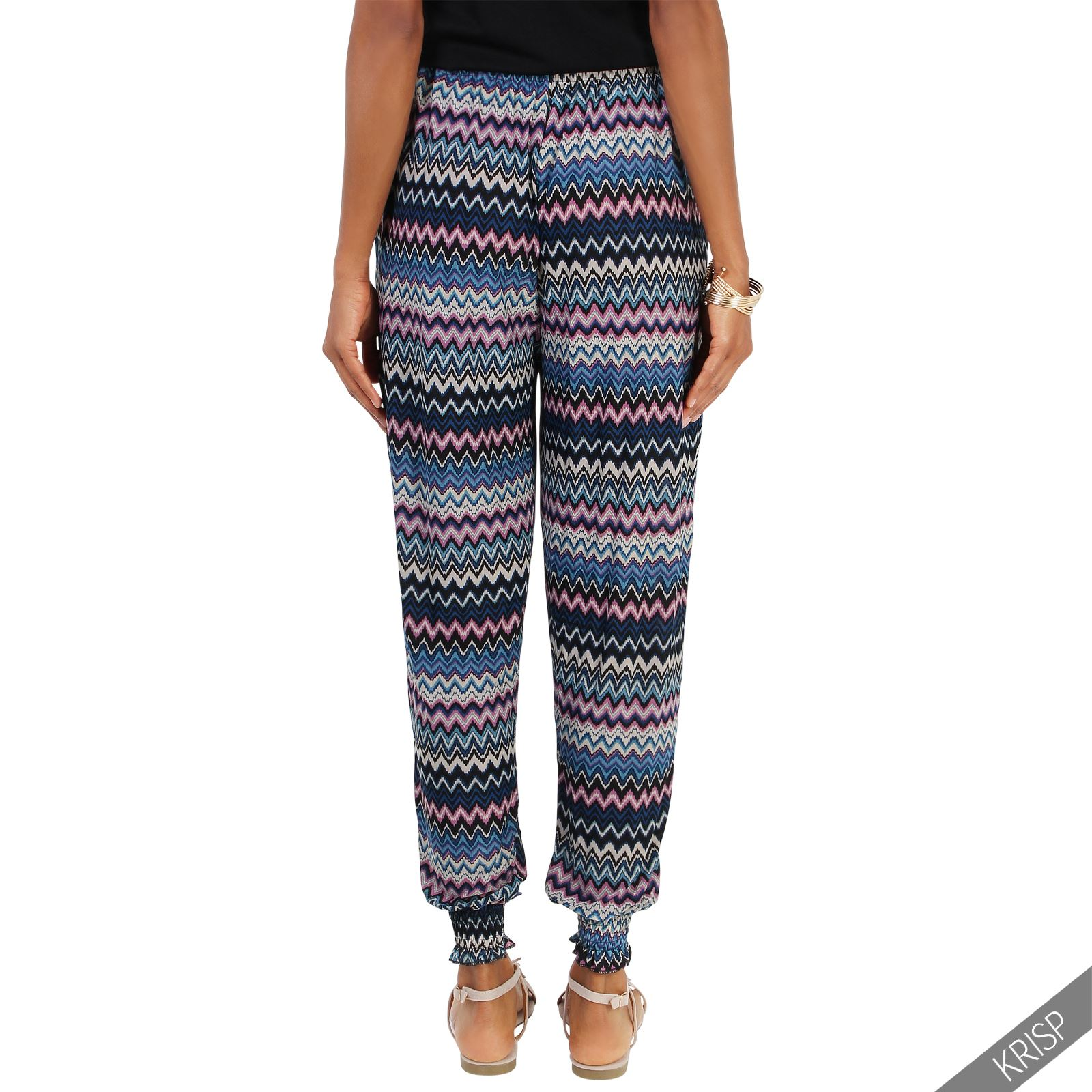 Elegant Ladies Lagenlook Tulip Harem Pants Trousers Womens Linen Sizes