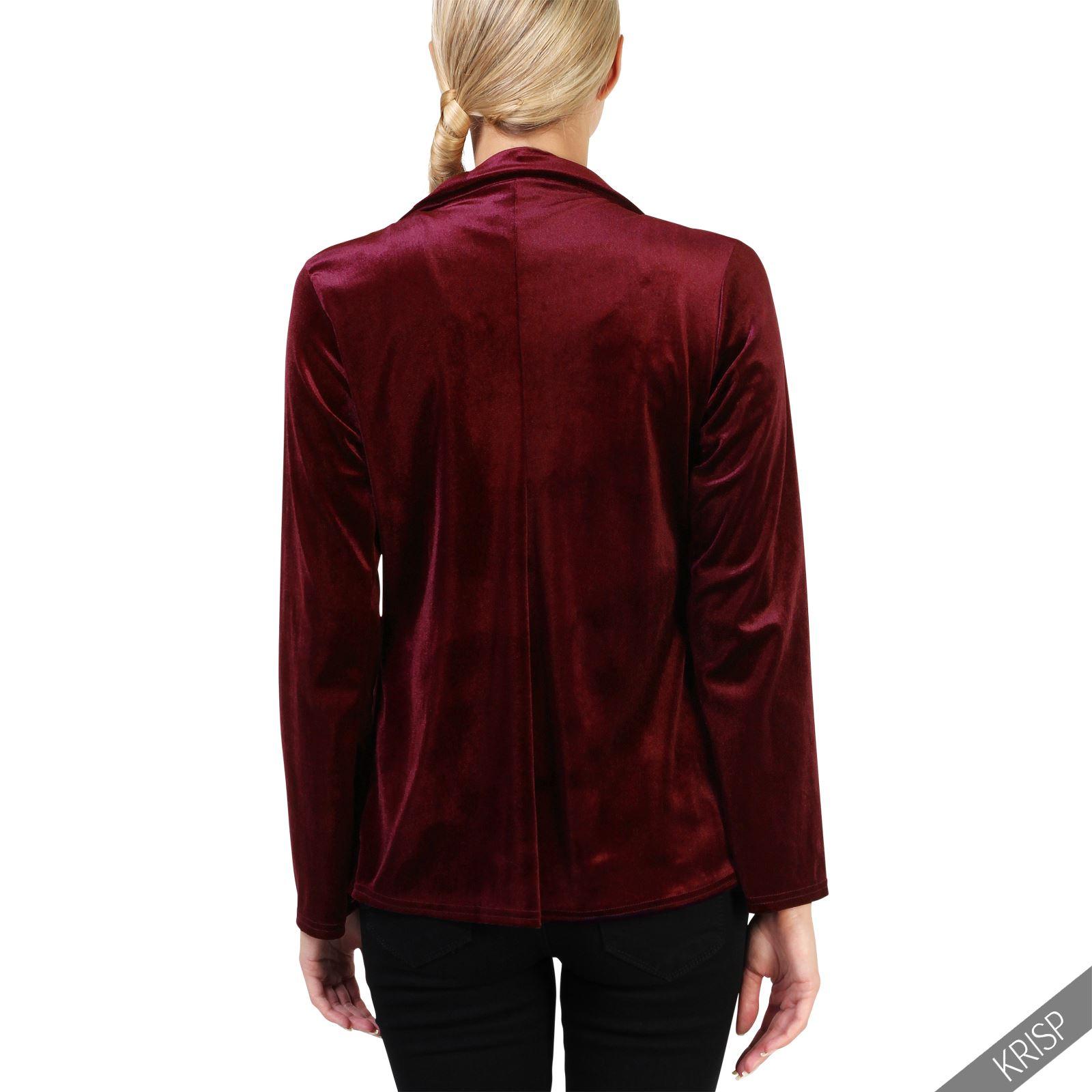 Velvet jackets for women