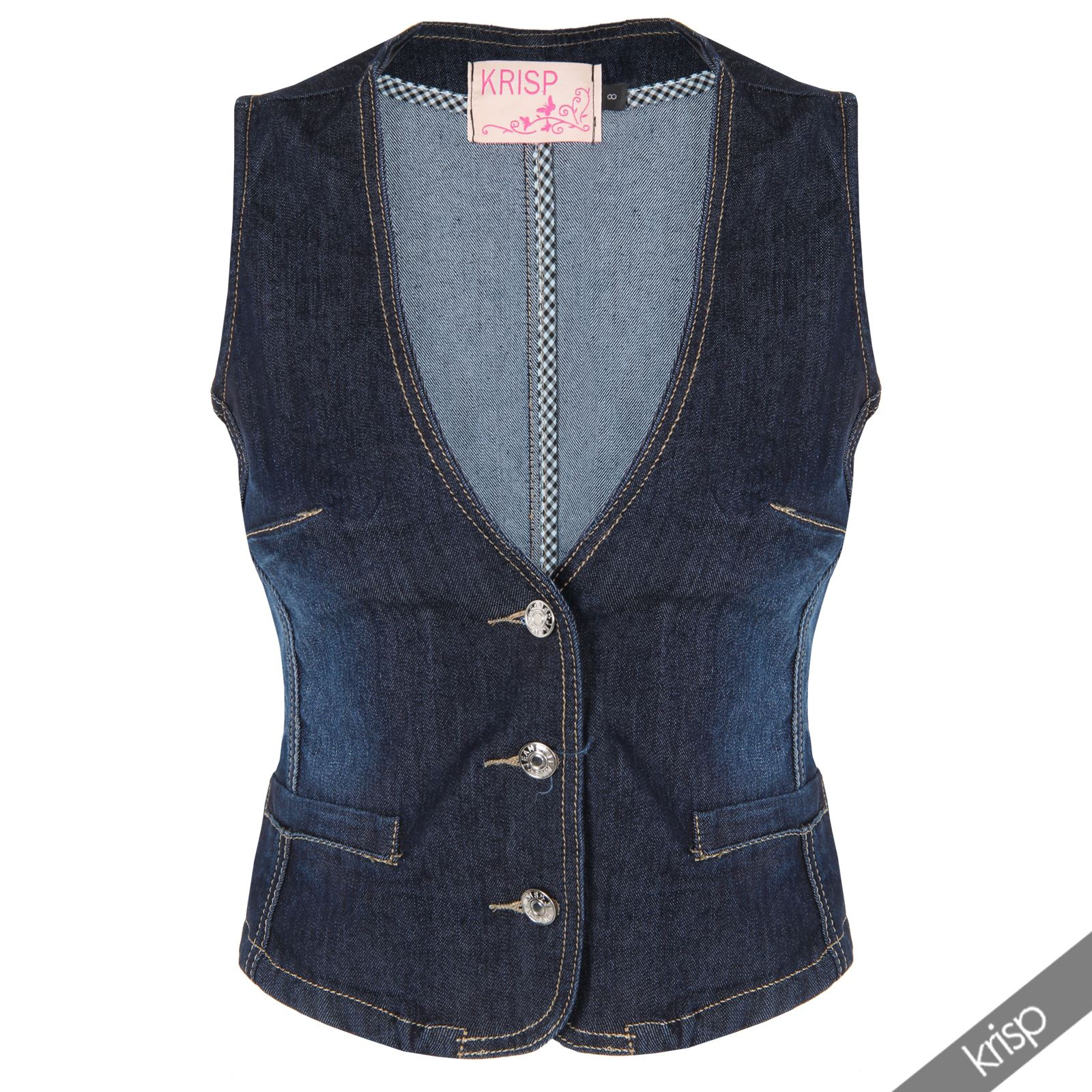 Create an androgynous causal look with this women's charcoal ponte waistcoat. With a longline design and no fastenings, this sleeveless waistcoat is the perfect finishing touch for your smart/causal looks.