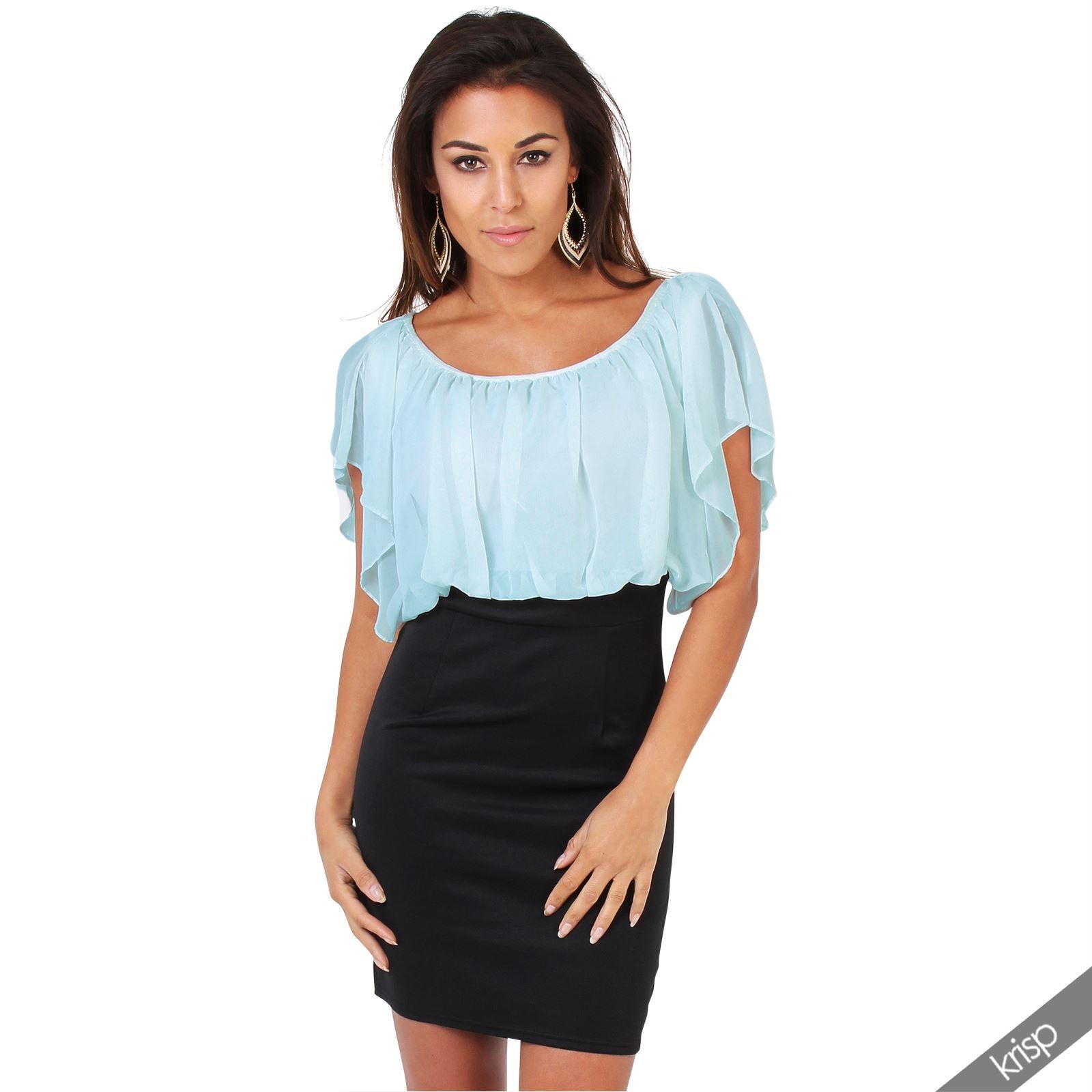 NEW Womens Elegant Bodycon Dress Business Pencil Skirt ...