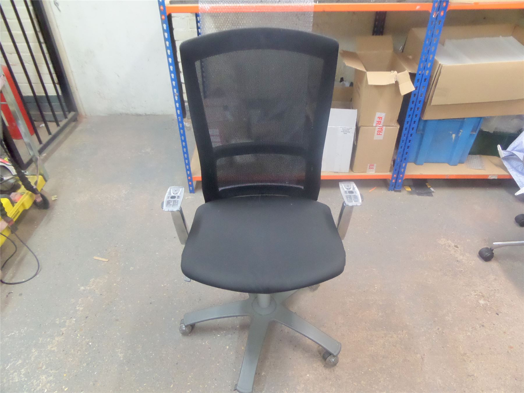 Knoll life ergonomic office chair missing arm rests ebay - Knoll life chair parts ...
