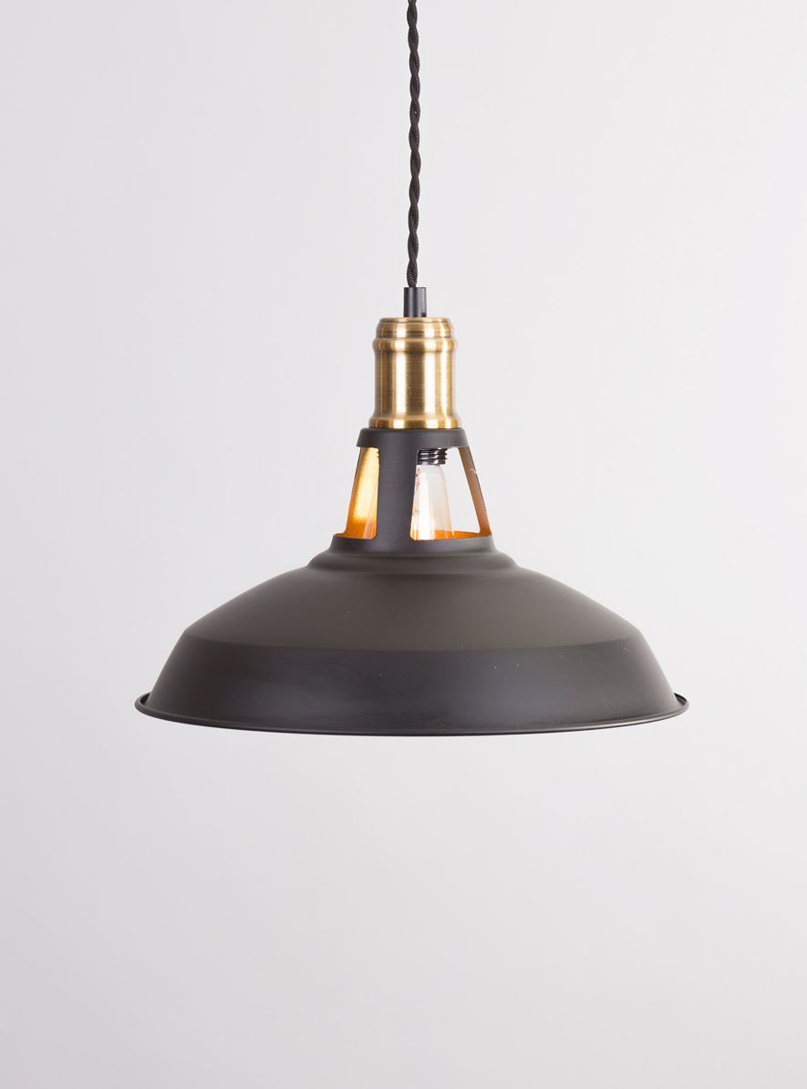 Vintage Retro Industrial Black Gold Kitchen Lights Ceiling