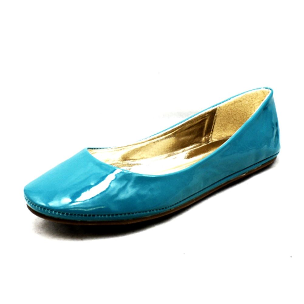 Ladies Plain Flat Shoes / Pumps | EBay