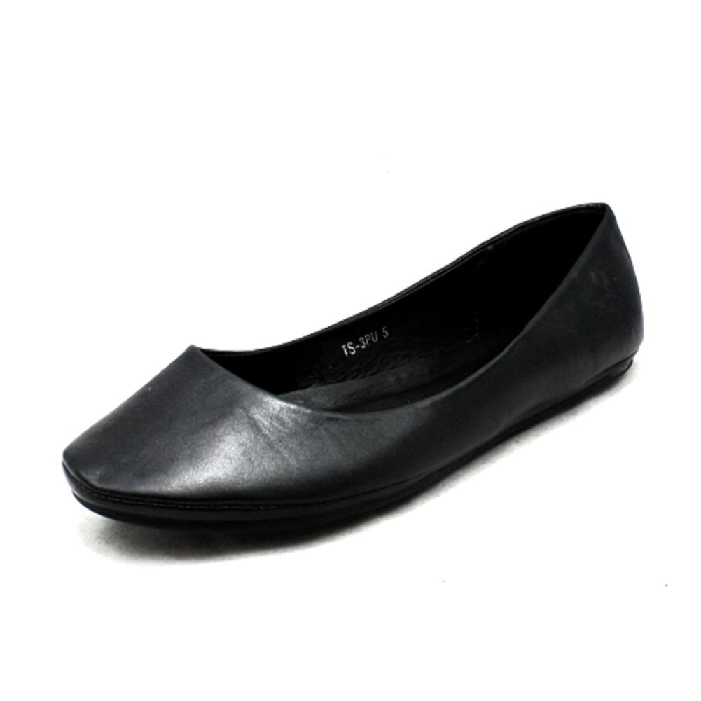 Ladies Plain Flat Shoes / Pumps | EBay