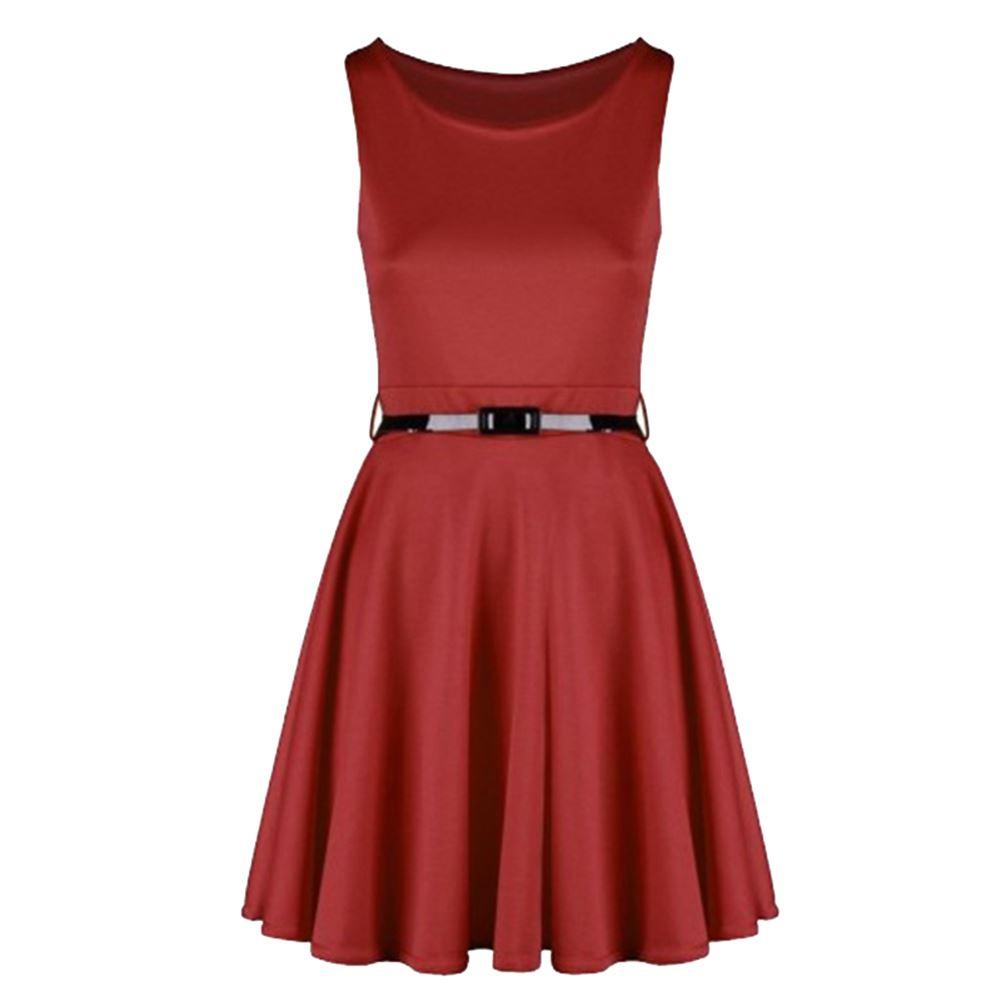 skater dress with belt plus sizes ebay