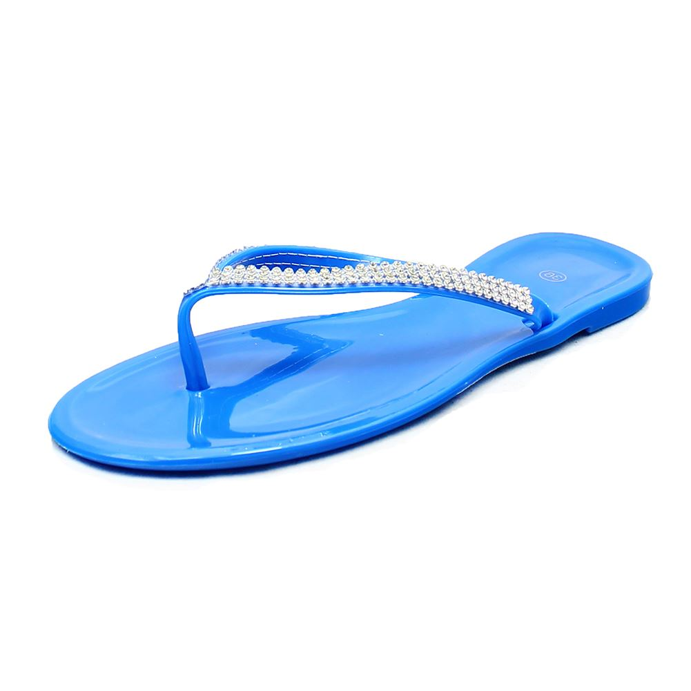 jelly sandals flip flops with sparkly detail ebay. Black Bedroom Furniture Sets. Home Design Ideas