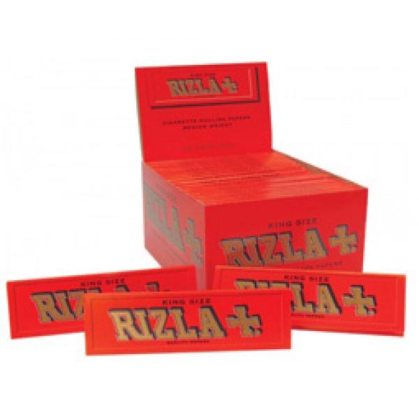 Rizla Red King Size Paper Box Of 50 Books Ebay