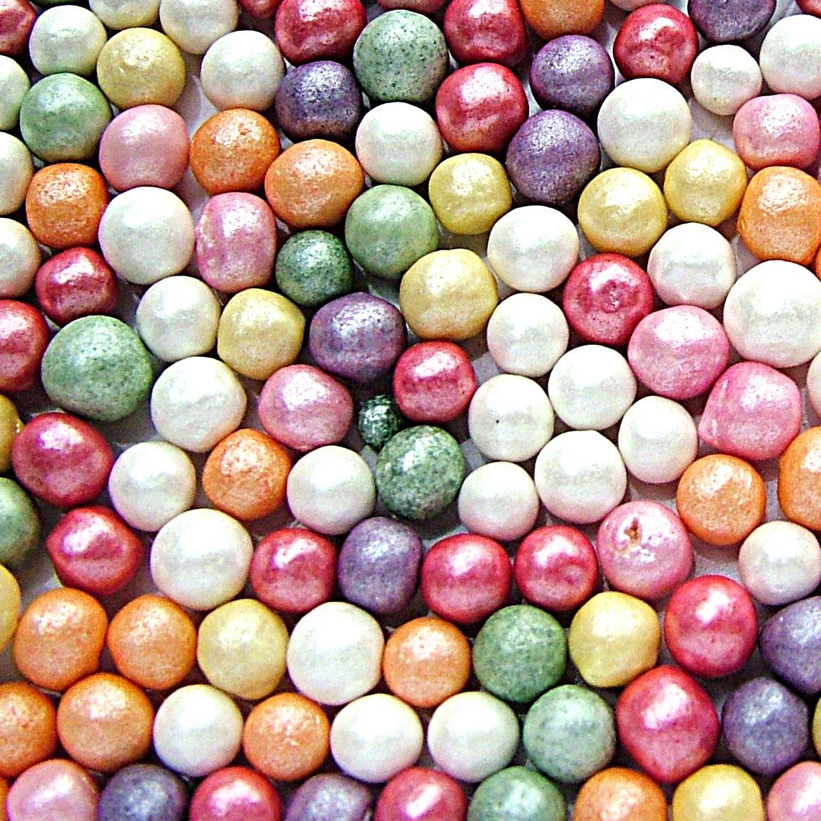 Edible Cake Decorations Pearls : Edible Cupcake Cake Sprinkles Sugar Pearls and Decorations ...