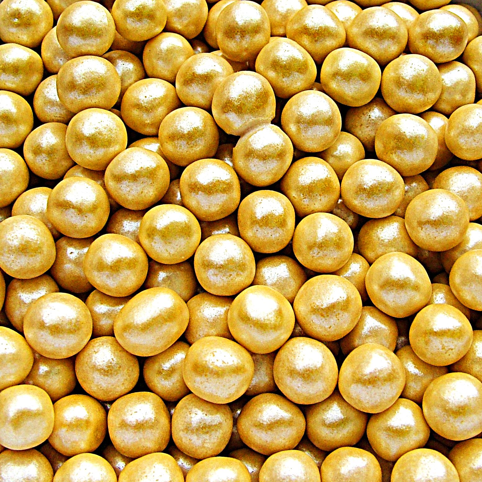 Edible Gold Cake Decorations