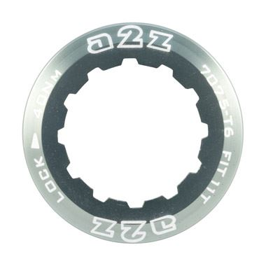 A2Z Alloy 11T Anodized Lockring for Shimano & Sram Bike Gear Cassettes