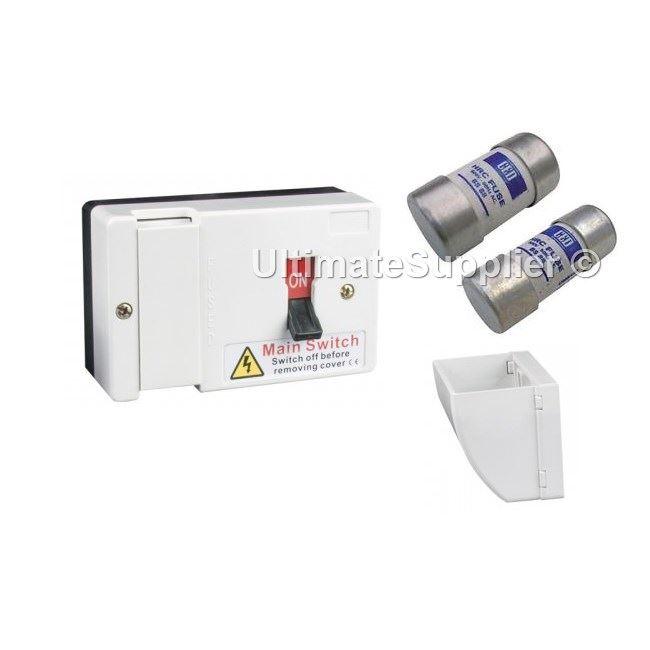 Mem Fuse Box Uk : A fused main switch sub c w cable shroud