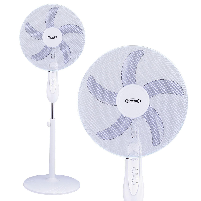 Desk Tower Fan : Quot pedestal oscillating stand fan desk fans electric