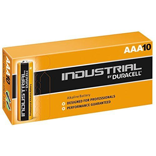 Duracell Industrial Alkaline Batteries Replaces Procell AA, AAA, 9V, C or D size