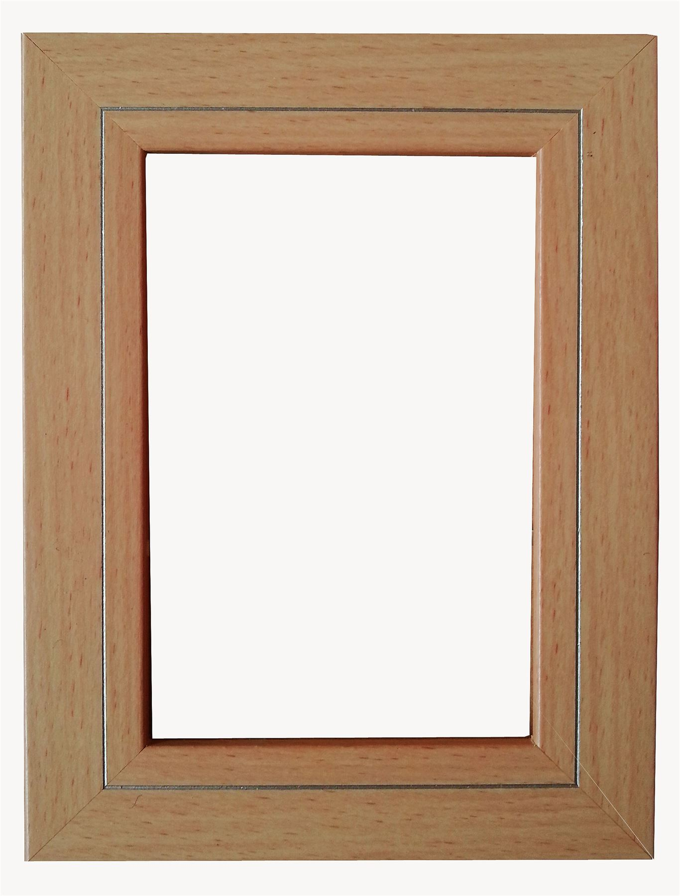 black brown rustic beech 29mm picture frame photo