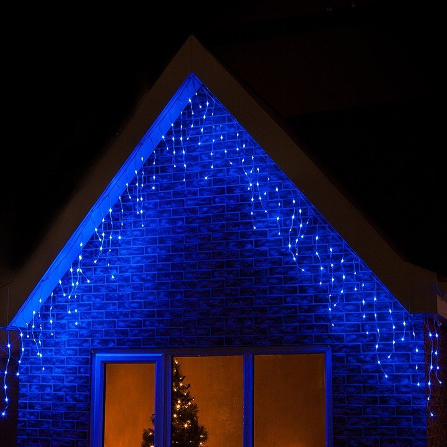 Christmas icicle 240360480720960 led snowing xmas lights party christmas icicle 240 360 480 720 960 led aloadofball Choice Image