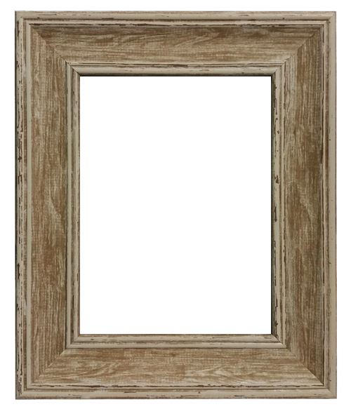 Shabby Chic Off White or Brown Picture Photo Frame Various Sizes