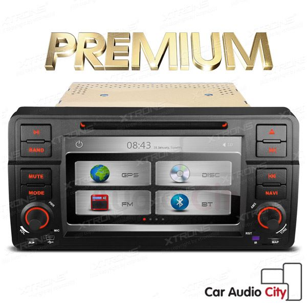 bmw e46 320 m3 stereo 7 touch screen car cd dvd player gps navigation canbus bt ebay. Black Bedroom Furniture Sets. Home Design Ideas