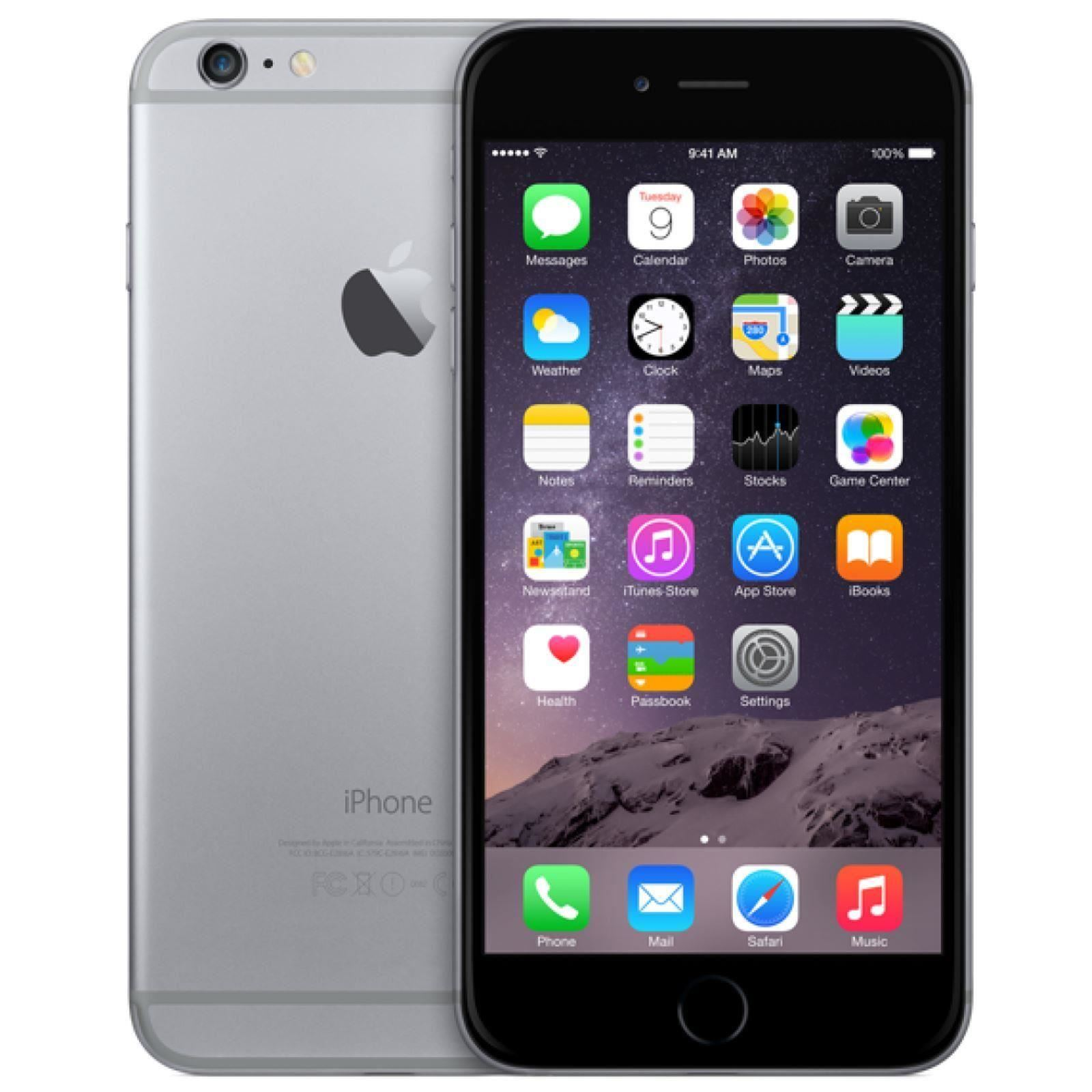 apple iphone 6 plus 64gb factory unlocked space grey ebay. Black Bedroom Furniture Sets. Home Design Ideas