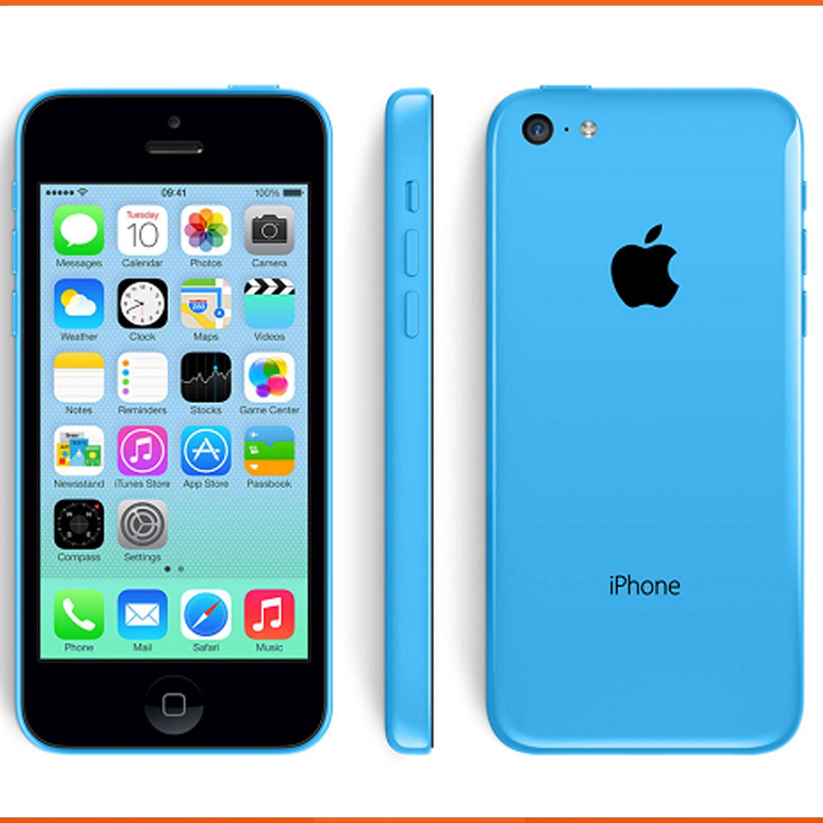 Apple-iPhone-5C-8gb-16gb-32gb-Blue-Green-White-Yellow-Green-Unlocked-Smartphone