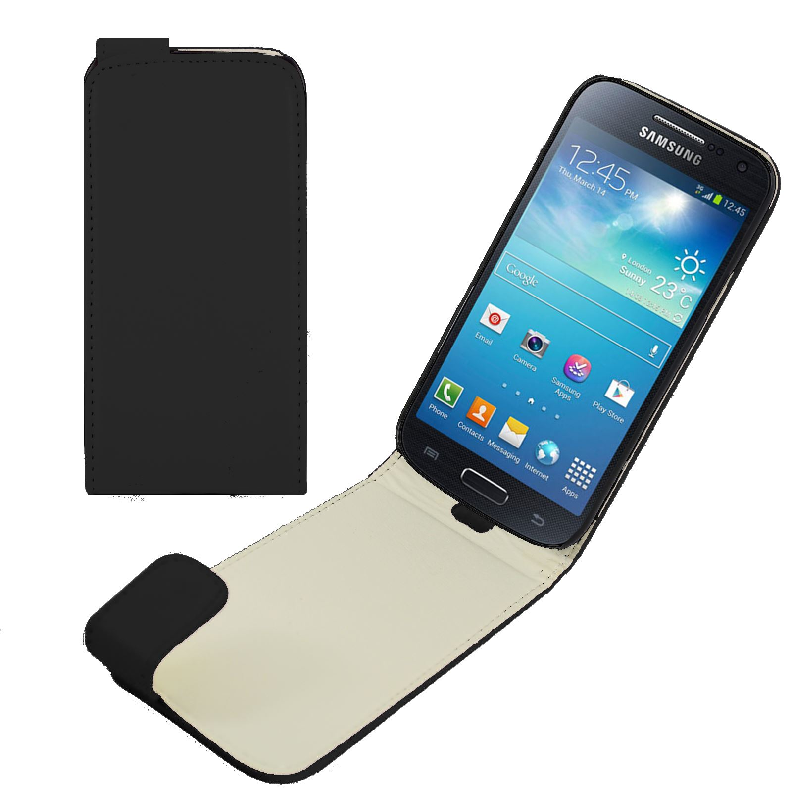PU-Leather-Case-for-Samsung-Galaxy-S4-MINI-With-Magnetic-Catch