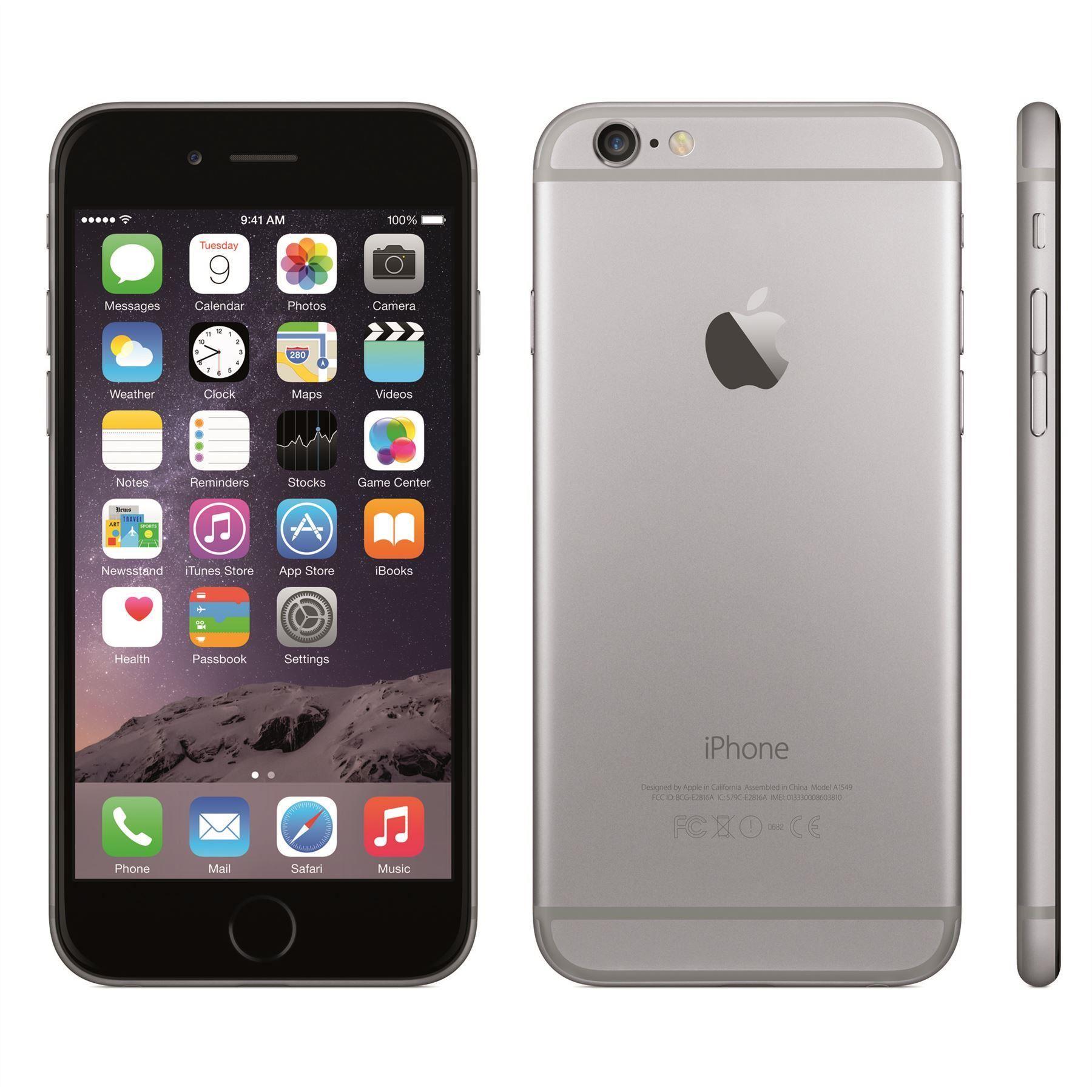 Resultado de imagen para iphone 6 64gb space grey