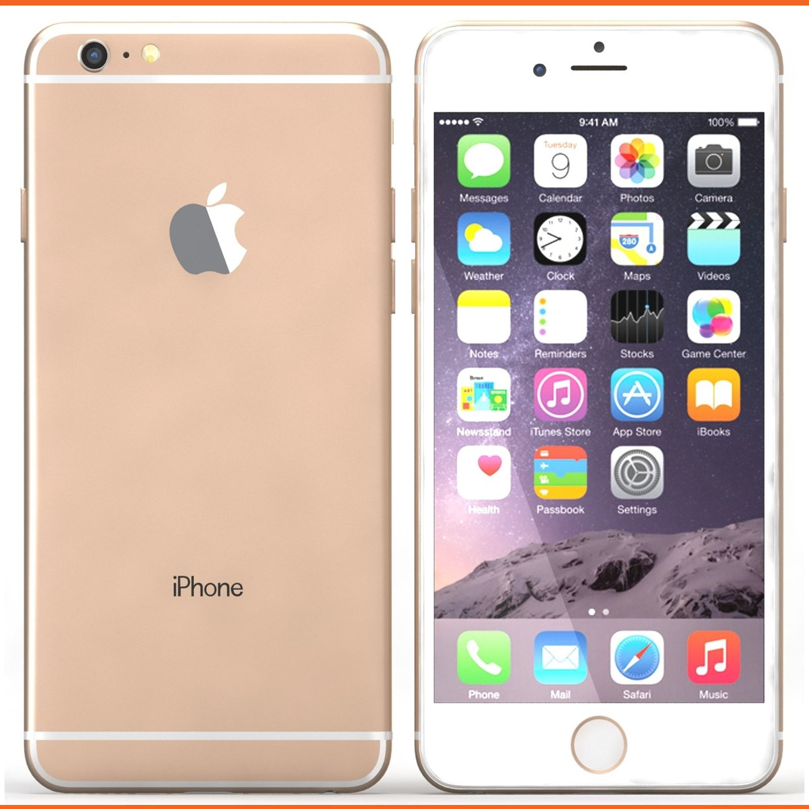 apple iphone 6 plus 128gb factory unlocked sim free. Black Bedroom Furniture Sets. Home Design Ideas