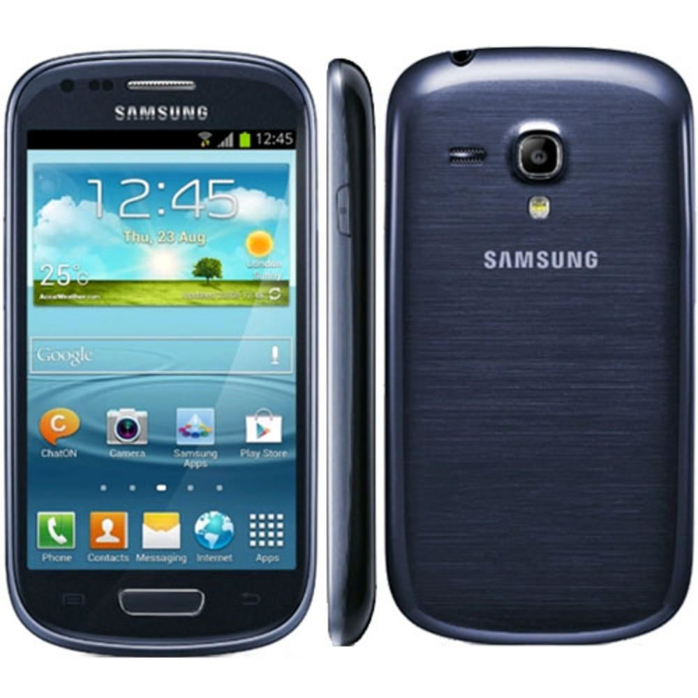 samsung galaxy s iii mini gt i8190 8 gb pebble blue. Black Bedroom Furniture Sets. Home Design Ideas