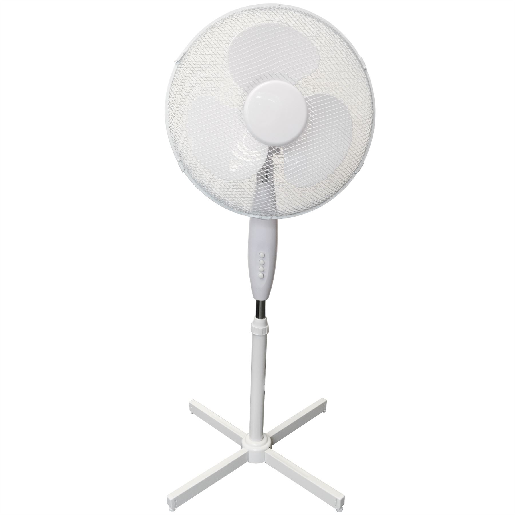 Electric Fan On A Stand : Quot inch electric oscillating table fan cooling air