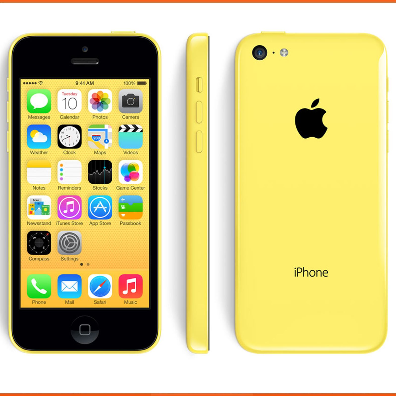 apple iphone 5c 8gb 16gb 32gb blue green white yellow. Black Bedroom Furniture Sets. Home Design Ideas