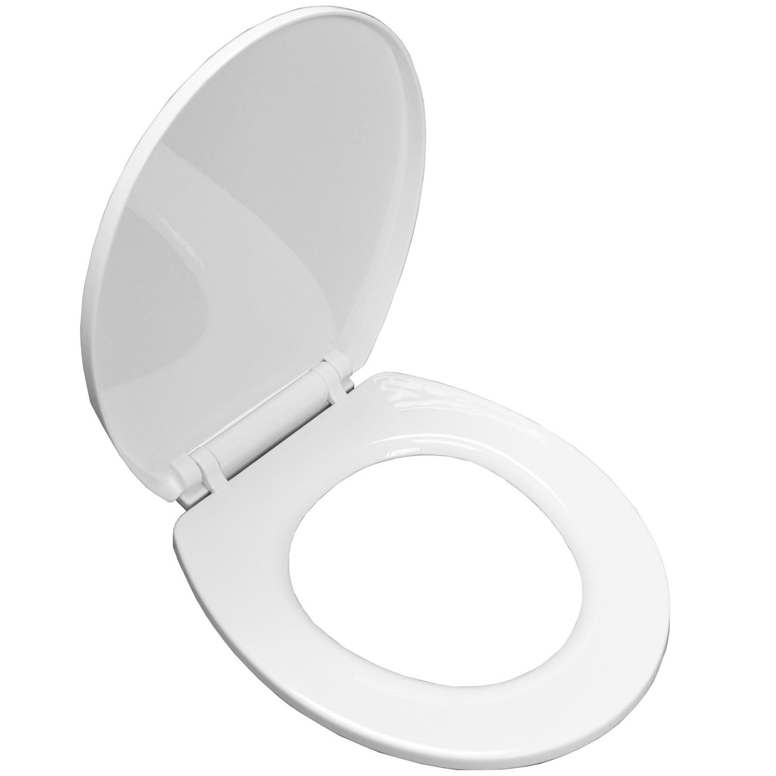 Premium Soft Slow Close White Oval Anti Slam Toilet Seat With Fixings EBay