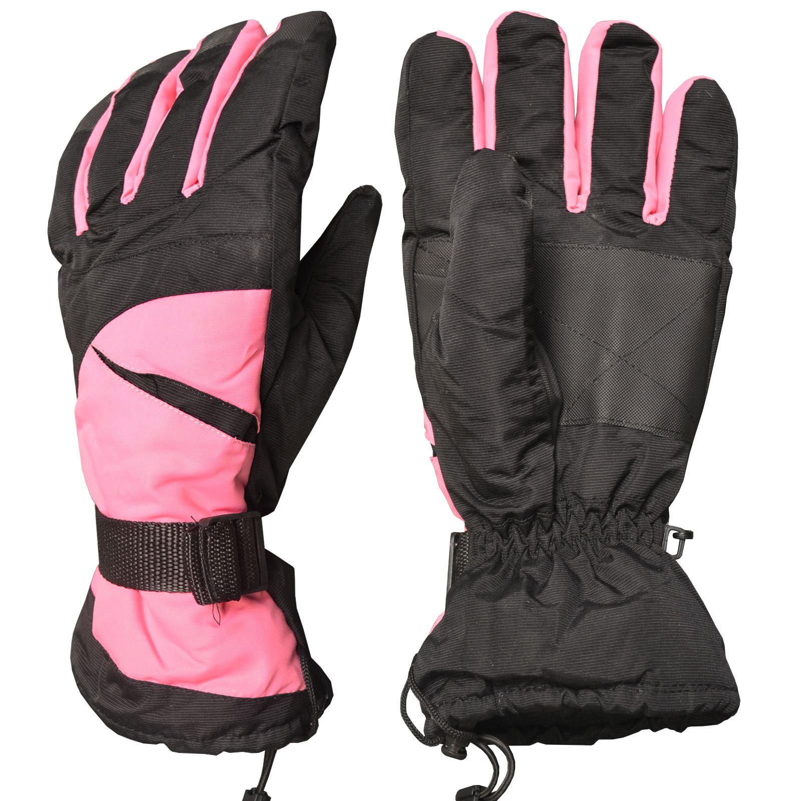 Sport Snow Gloves: UNISEX MEN WOMEN THERMAL WINTER SNOW SPORT SKI RACING