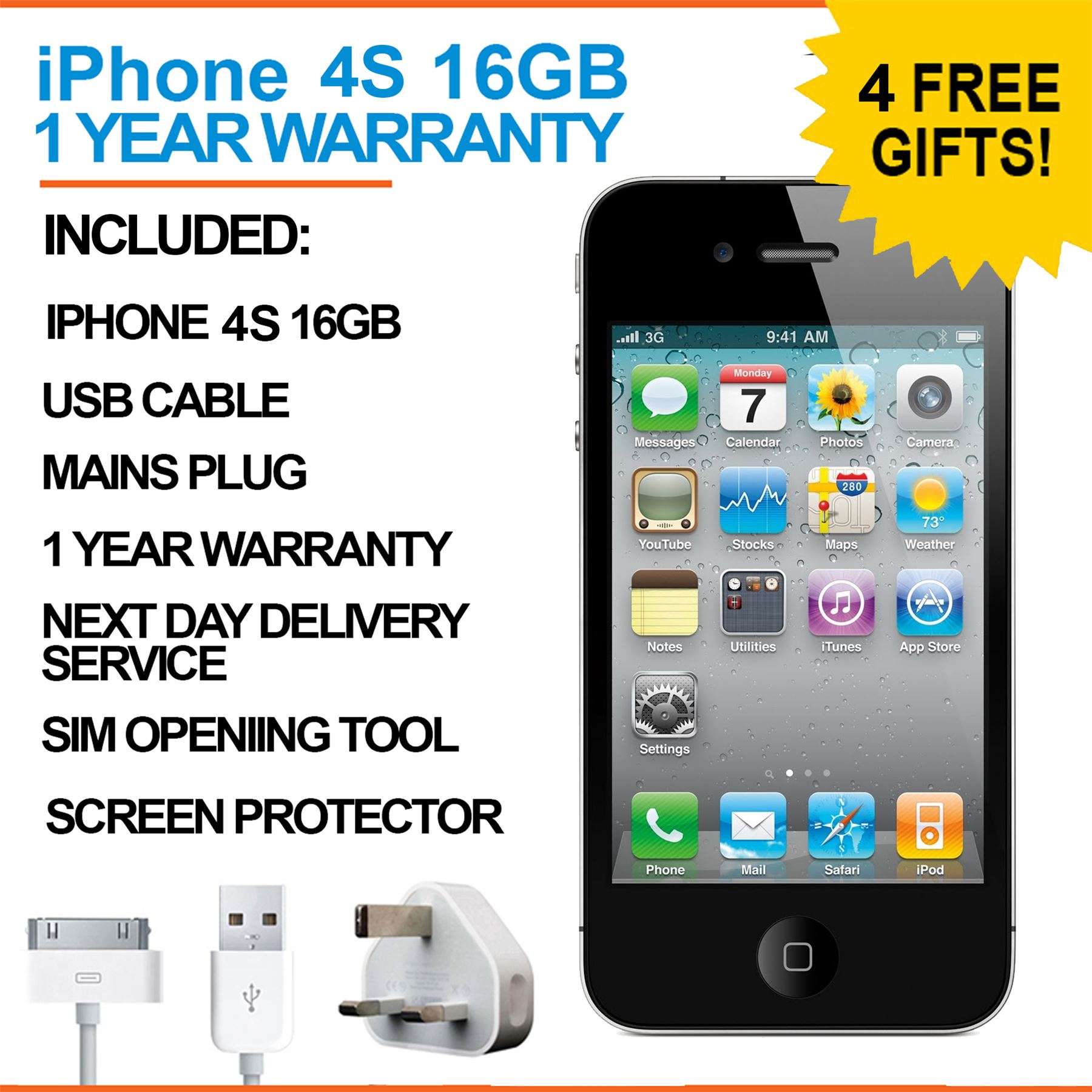 Deals on iphone 4s 16gb