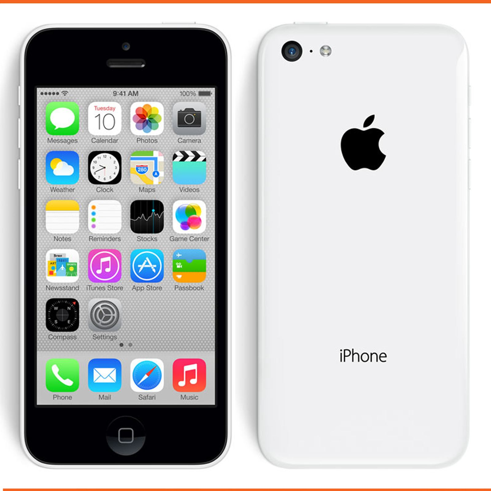 Apple iPhone 5C 8GB Factory Unlocked Sim Free Smartphone ...