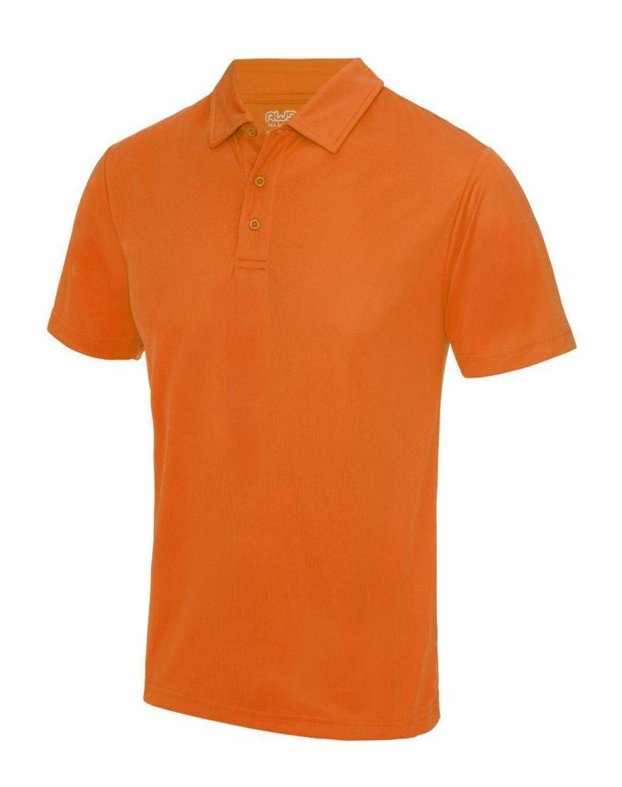 New polo shirt moisture wicking 100 polyester upf 30 for Moisture wicking dress shirts