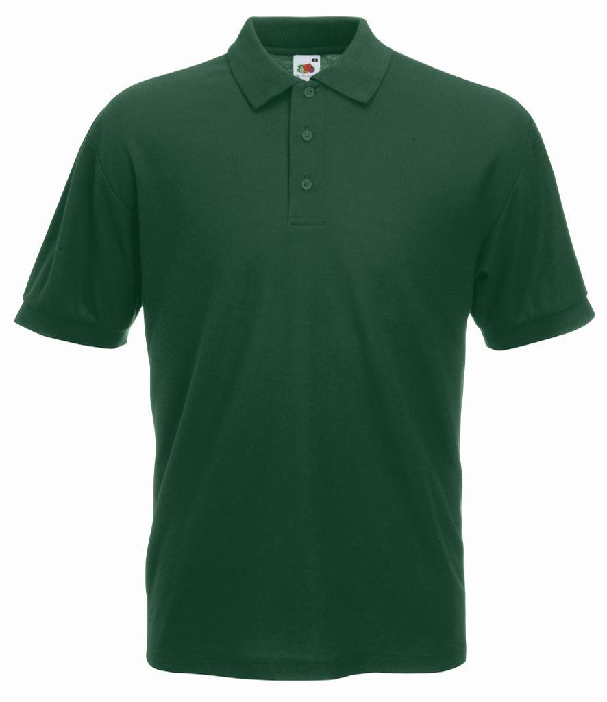 Mens poly cotton polo shirt with reinforced shoulders for Mens cotton polo shirts